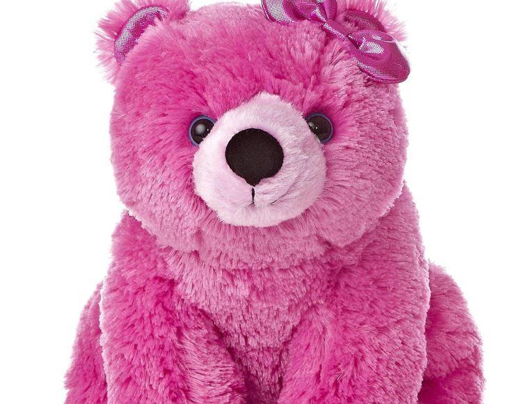 Мягкая розовая игрушка