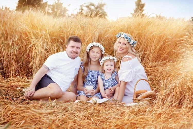 Семейная фотоссесия