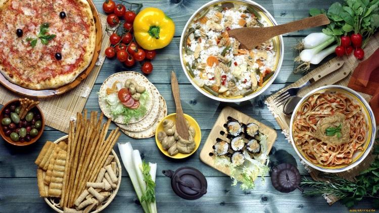 Блюда из разных стран