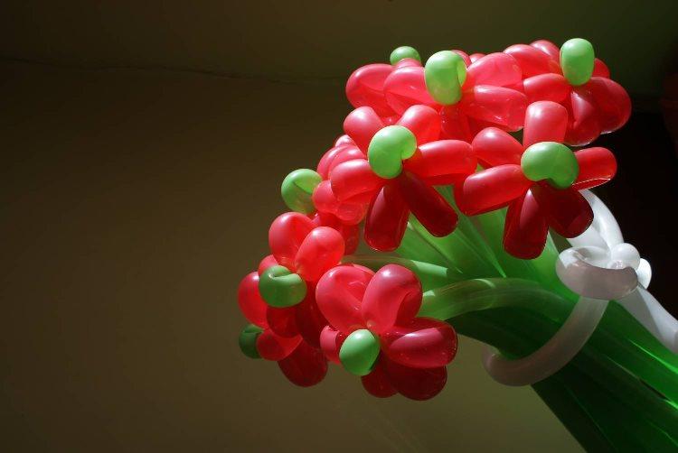 Из воздушных шариков