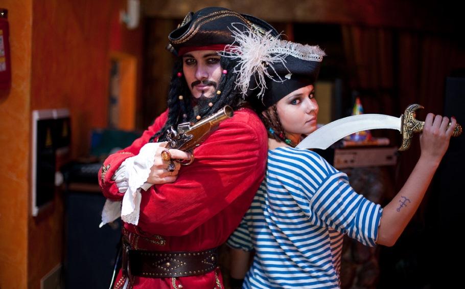 Пиратская вечеринка для взрослых