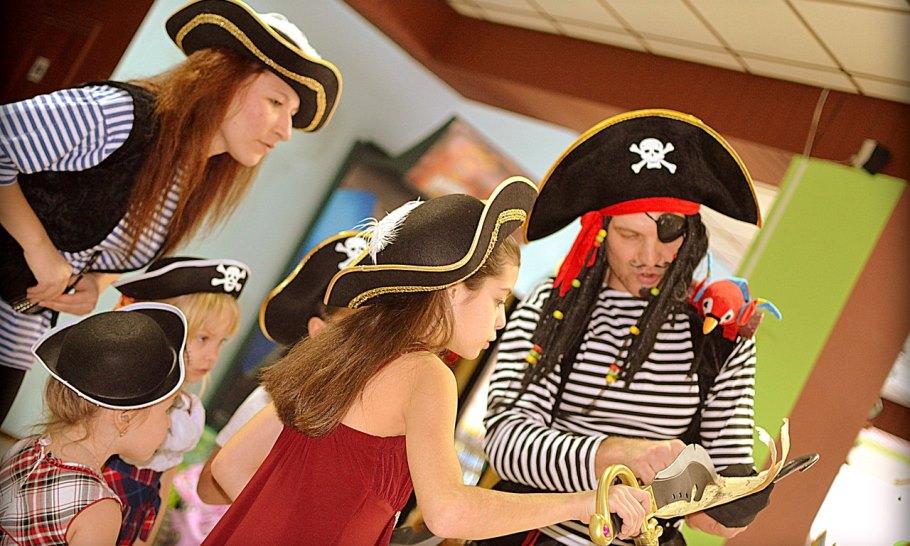 Сценарий детской пиратской вечеринки