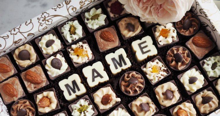Сладкий подарок маме на день рождения