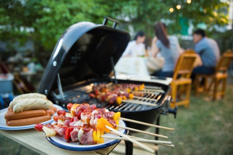Пикник с барбекю